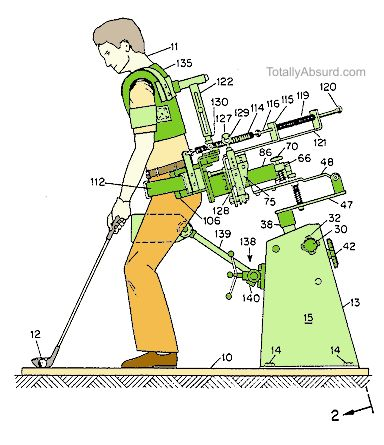 T3 - The Bionic Golfer - Totally Absurd Inventions & Patents!